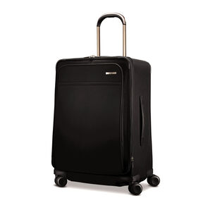 Hartmann Metropolitan Medium Journey Expandable Spinner in the color Deep Black.