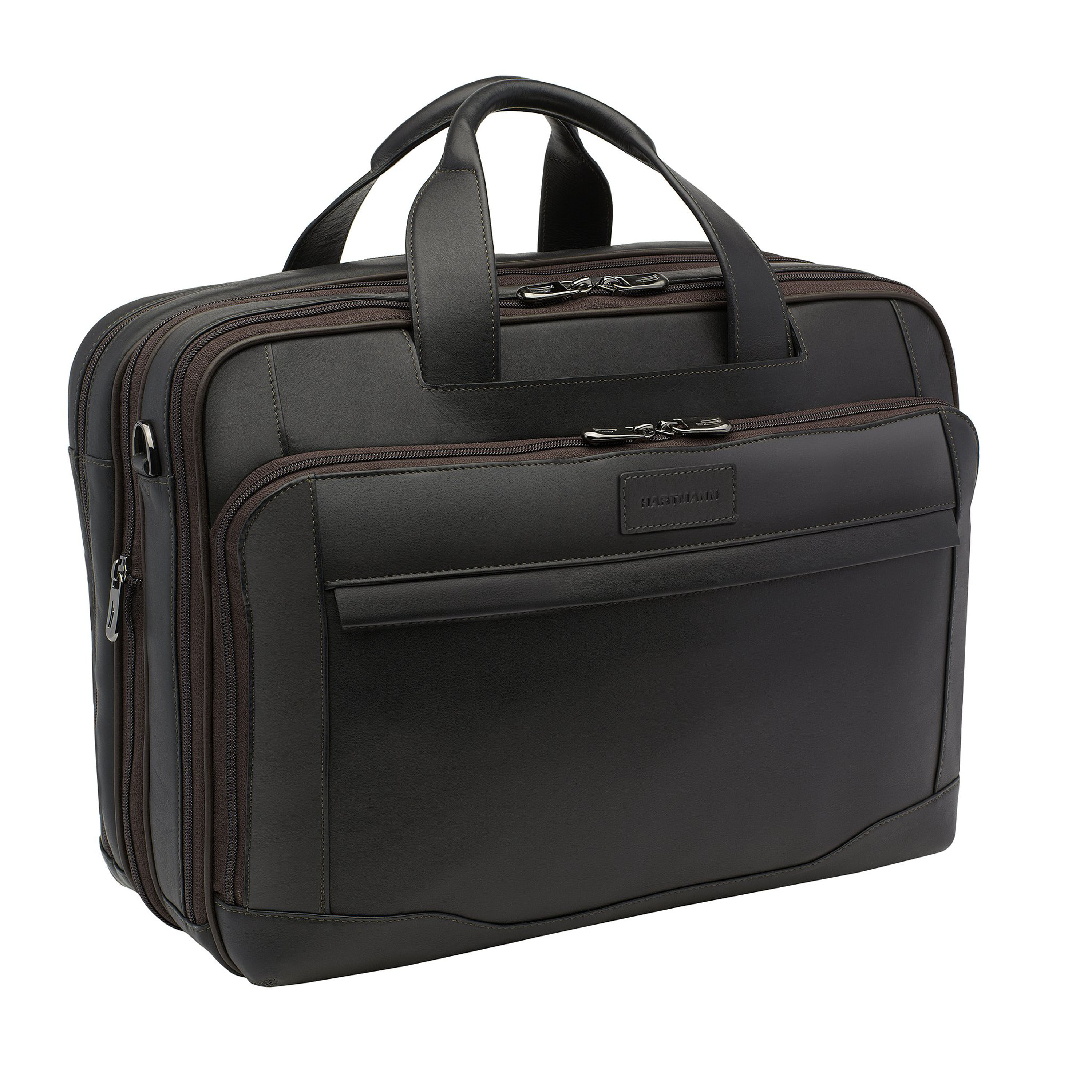 hartmann luggage, business cases, and leather accessories shop  hartmann aviator zipper briefcase expandable