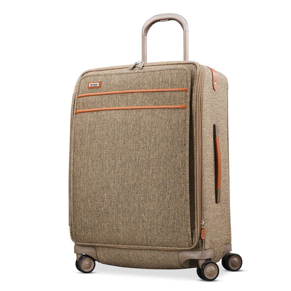 Hartmann Tweed Legend Medium Journey Expandable Spinner in the color Natural Tweed.