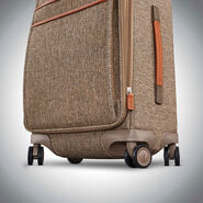 Hartmann Tweed Legend Extended Journey Expandable Spinner in the color Natural Tweed.