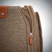 Hartmann Tweed Legend Domestic Carry On Expandable Spinner in the color Natural Tweed.