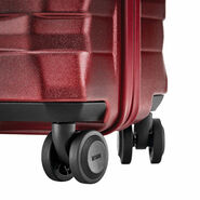 Hartmann Excelsior Carry-On Spinner in the color Ruby Red.