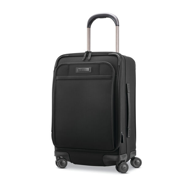 Hartmann Ratio 2 Global Carry-On Spinner in the color True Black.