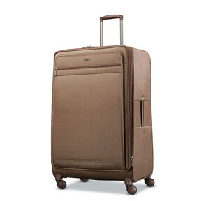 Hartmann Century Extended Journey Expandable Spinner in the color Mocha Monogram.