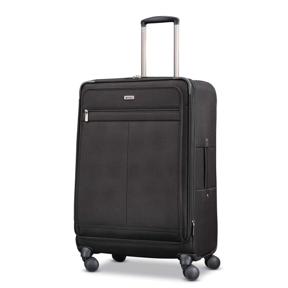 Hartmann Century Medium Journey Expandable Spinner in the color Basalt Black.