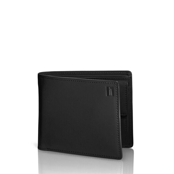 Hartmann Belting Medium Wallet with Coin Pocket in the color Heritage Black.
