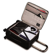 Hartmann Metropolitan Domestic Carry-On Expandable Spinner in the color Deep Black.