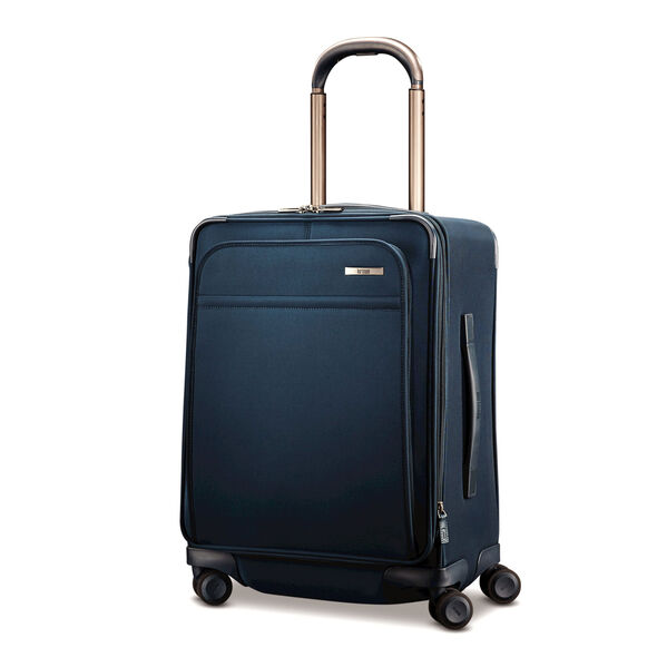 Hartmann Metropolitan Domestic Carry-On Expandable Spinner in the color Harbor Blue.
