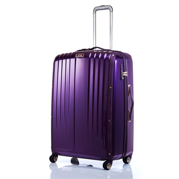 "Hartmann Denovo 28"" Spinner in the color Violet."