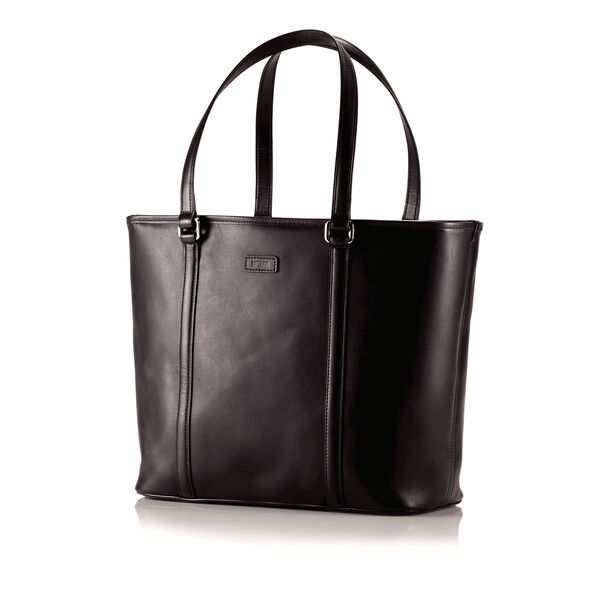 Hartmann Heritage Zippered Tote in the color Heritage Black.