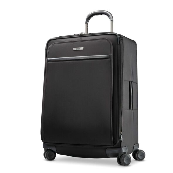 Hartmann Metropolitan 2 Medium Journey Expandable Spinner in the color Deep Black.