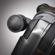 Hartmann Century Hardside Carry On Expandable Spinner in the color Graphite/Espresso.