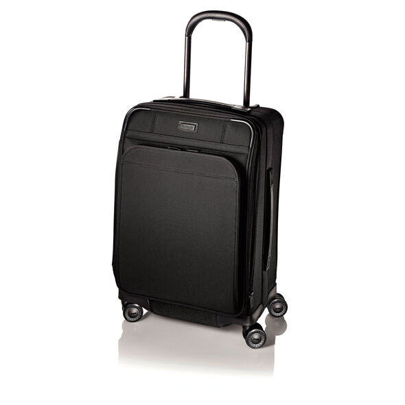 Hartmann Ratio Global Carry On Glider in the color True Black.