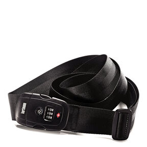 Hartmann TSA Combination Luggage Strap in the color Black.