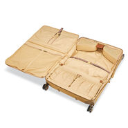 Hartmann Ratio Classic Deluxe 2 Carry-On Garment Bag Spinner in the color Safari.