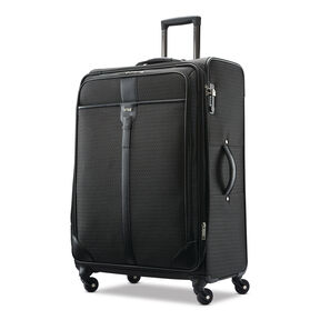 Hartmann Luxe Softside Long Journey Spinner in the color Black Jacquard.