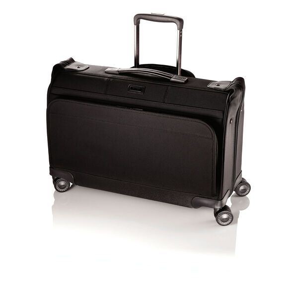 Hartmann Ratio Carry On Glider Garment Bag in the color True Black.