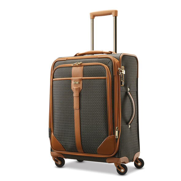 Hartmann Luxe Softside Carry-On Expandable Spinner in the color Terracotta Jacquard.