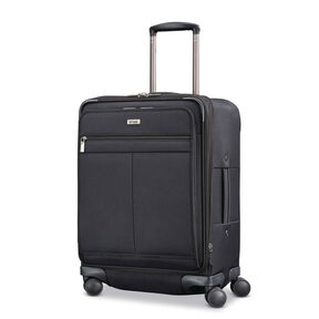 Hartmann Century Domestic Carry On Expandable Spinner in the color Basalt Black.