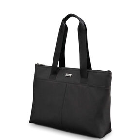 Hartmann Century Top Zip Tote in the color Basalt Black.