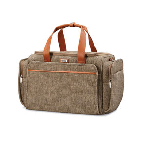 Hartmann Tweed Legend Travel Duffle in the color Natural Tweed.