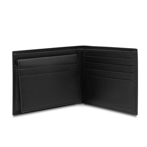 Hartmann Capital Leather Removable ID Billfold in the color Black.