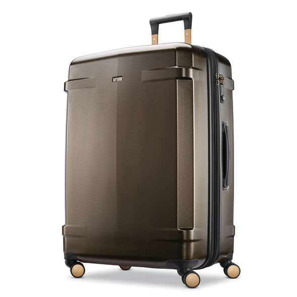 Hartmann Century Deluxe Hardside Extended Journey Expandable Spinner in the color Bronze.