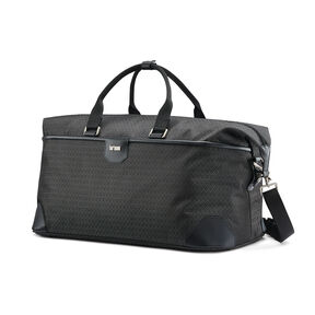 Hartmann Luxe Softside Weekend Duffel in the color Black Jacquard.