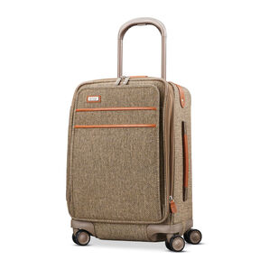 Hartmann Tweed Legend Global Carry On Expandable Spinner in the color Natural Tweed.
