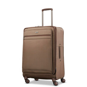Hartmann Century Medium Journey Expandable Spinner in the color Mocha Monogram.