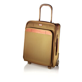 Hartmann Ratio Classic Deluxe Domestic Carry On Upright in the color Safari.