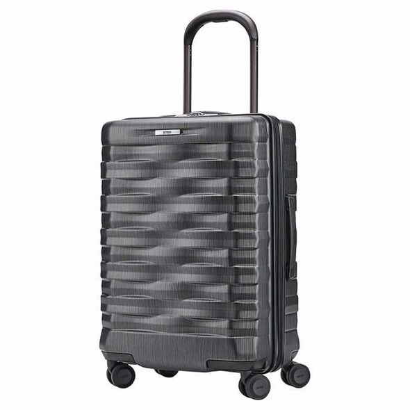 Hartmann Excelsior Carry-On Spinner in the color Brushed Graphite.