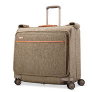 Hartmann Tweed Legend Voyager Spinner Garment Bag in the color Natural Tweed.