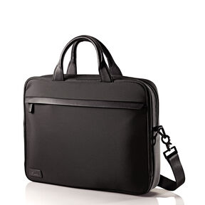 Hartmann Minimalist Single Compartment Brief in the color Black.