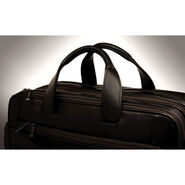 Hartmann Aviator Zipper Briefcase Expandable in the color Black.