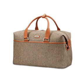 Hartmann Tweed Legend Weekend Duffle in the color Natural Tweed.