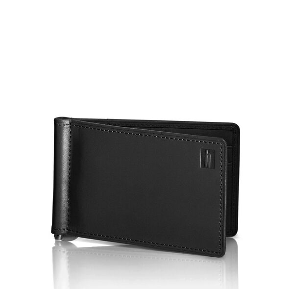 Hartmann Belting Wallet with Flip Clip in the color Heritage Black.