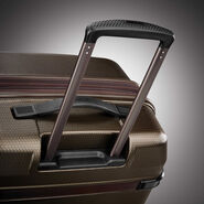 Hartmann Century Hardside Extended Journey Expandable Spinner in the color Bronze Monogram/Espresso.