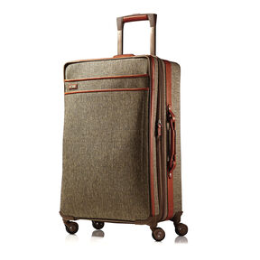 Hartmann Tweed Medium Journey Expandable Spinner in the color Natural.