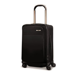 Hartmann Metropolitan Global Carry-On Expandable Spinner in the color Deep Black.