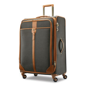 Hartmann Luxe Softside Long Journey Spinner in the color Terracotta Jacquard.