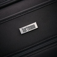 Hartmann Century Global Carry On Expandable Spinner in the color Basalt Black.