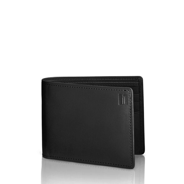 Hartmann Belting Wallet with Removable Card Wallet in the color Heritage Black.