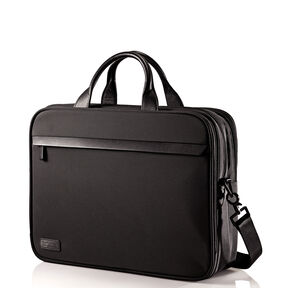 Hartmann Minimalist Double Compartment Brief in the color Black.