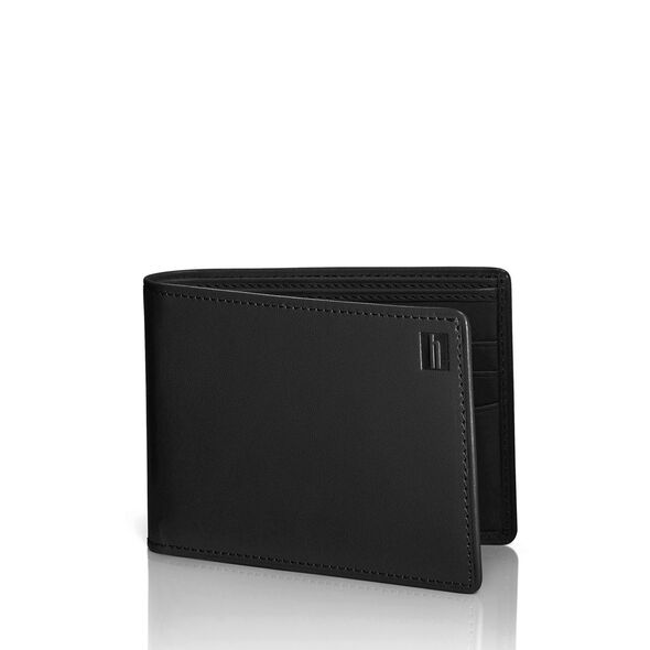Hartmann Belting Two Compartment Wallet in the color Heritage Black.
