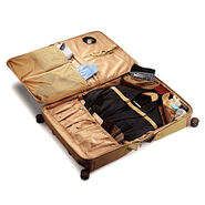 Hartmann Ratio Classic Deluxe Carry On Glider Garment Bag in the color Safari.