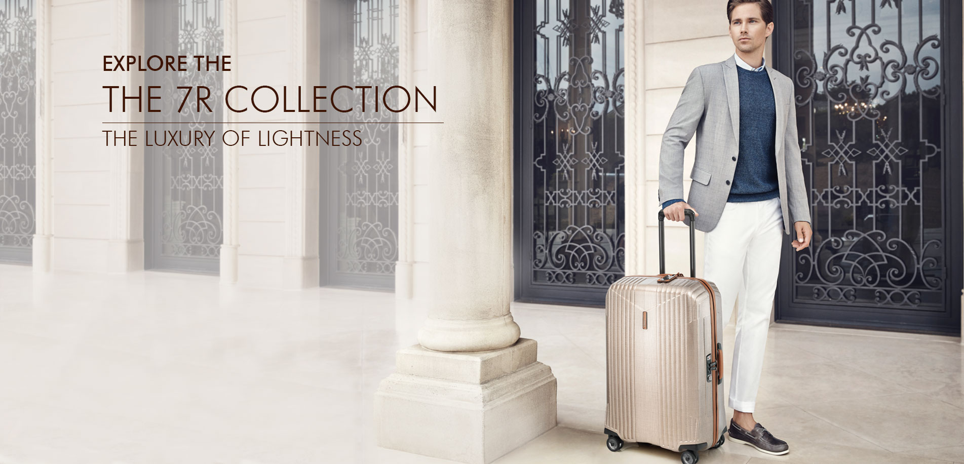 Explore The 7r Collection And Discover Luxury Of Lightness Now