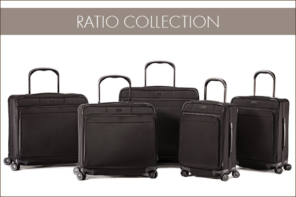Hartmann's Ratio Collection - Including Glider™ Cases featuring StrideAlign™ technology.