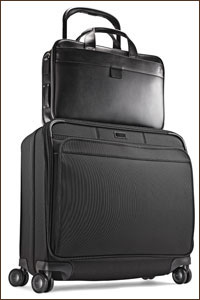 Hartmann's Glider Cases Secure - Secure a bag easily on the wide profile.