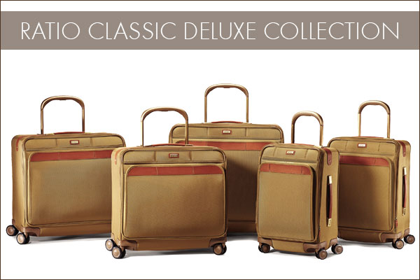 Hartmann's Ratio Classic Deluxe Collection - Including Glider™ Cases featuring StrideAlign™ technology.